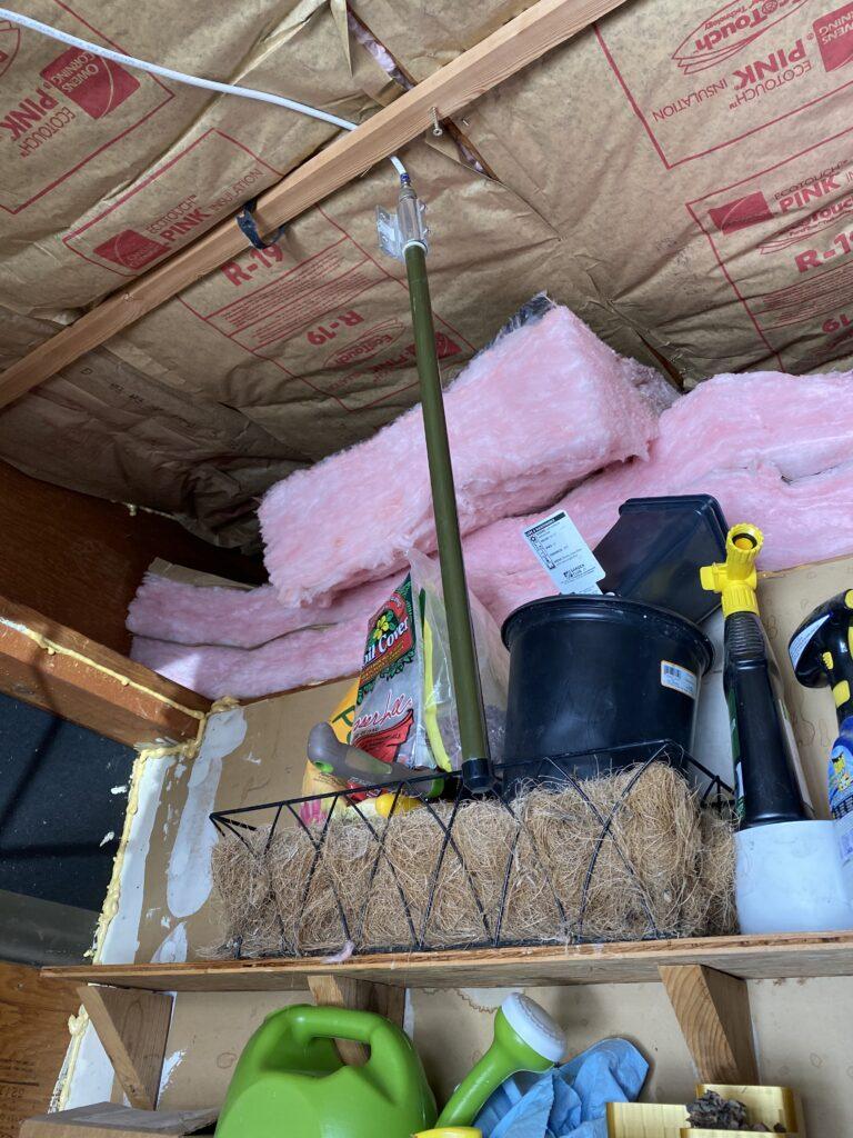ADS-B antenna in garage